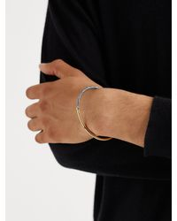 MAOR The Equinox White And Yellow Gold Diamond Bracelet - Metallic
