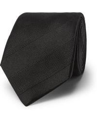 Lanvin - 7cm Striped Silk-twill Tie - Lyst
