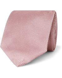 Tom Ford 8cm Woven Tie - Pink