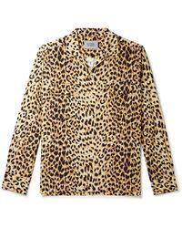 Carhartt WIP Wacko Maria Camp-collar Leopard-print Woven Shirt - Multicolour