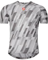 Castelli - Pro Printed Mesh Cycling Jersey - Lyst