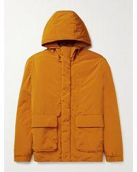 NN07 Shell Hooded Jacket - Orange