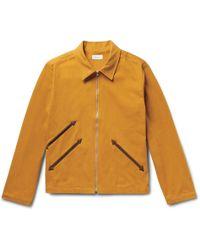 Fanmail - Organic Cotton-twill Jacket - Lyst