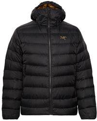 Arc'teryx Thorium Ar Quilted Nylon Down Jacket - Black