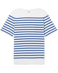 Arpenteur - Rachel Striped Combed Cotton-jersey T-shirt - Lyst