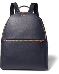 Smythson - Burlington Full-grain Leather Backpack - Lyst