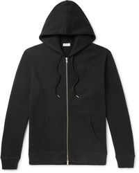 Sunspel - Loopback Cotton-jersey Zip-up Hoodie - Lyst