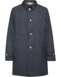 Canali Shell Raincoat - Blue