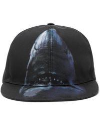Givenchy - Shark-print Canvas Baseball Cap - Lyst