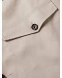 CONNOLLY Coated-cotton Jacket - Grey