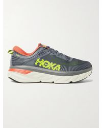 Hoka One One - Bondi 7 Rubber-trimmed Mesh Running Sneakers - Lyst