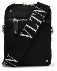 Valentino Valentino Garavani Vltn Messenger Bag - Black