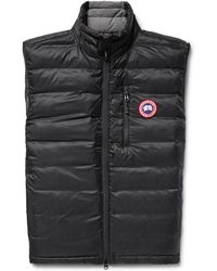 Canada Goose - Lodge Packable Quilted Ripstop Down Gilet - Lyst