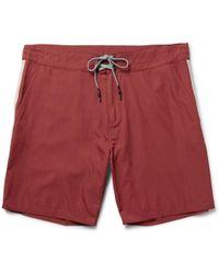 Outerknown - Evolution Long-length Econyl® Swim Shorts - Lyst