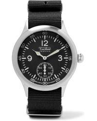 Techne | Merlin 246 Stainless Steel And Ballistic Nylon Watch | Lyst