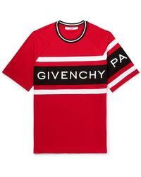 Givenchy 4g Logo Oversized T-shirt - Red