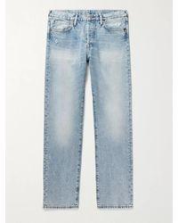 Acne Studios 1996 Distressed Denim Jeans - Blue