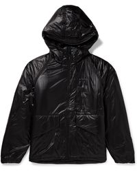 Gramicci Padded Cordura Ripstop Hooded Jacket - Black