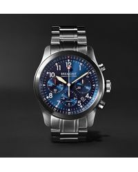Bremont - Alt1-p Automatic Chronograph 43mm Stainless Steel Watch - Lyst