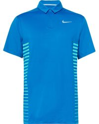 Nike - Dry Striped Dri-fit Golf Polo Shirt - Lyst