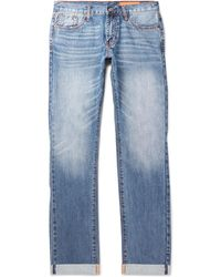 Jean Shop - Mick Slim-fit Selvedge Denim Jeans - Lyst