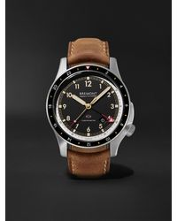 Bremont Ionbird 43mm Automatic Gmt Titanium And Nubuck Watch, Ref. No. Ionbirdmodel12020-r-s - Black