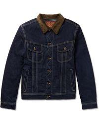 Kingsman - + Jean Shop Tequila's Statesman Blanket-lined Selvedge Denim Jacket - Lyst