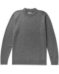 De Bonne Facture Wool Jumper - Grey