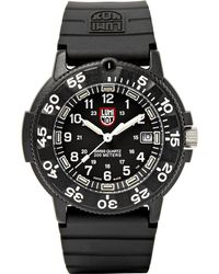 Luminox - 3000 Series Carbon-reinforced And Rubber Watch - Lyst