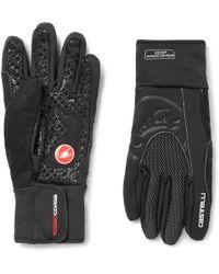 Castelli Estremo Gore Windstopper Jersey Cycling Gloves - Black