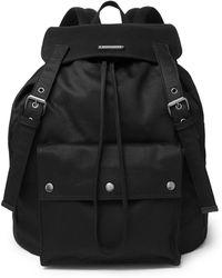Saint Laurent - Noe Canvas Backpack - Lyst