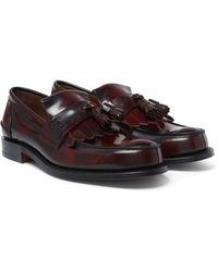 Church's Oreham Burnished-leather Kiltie Tasselled Loafers - Multicolour