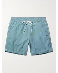 Hartford Mid-length Swim Shorts - Blue