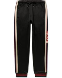 Gucci Technical Jersey Pants - Black