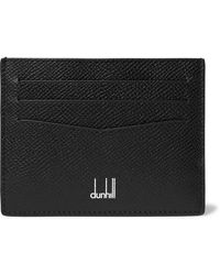 Dunhill Cadogan Leather Billfold Wallet - Black