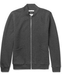 Howlin' By Morrison - The Scientist Fleece-back Cotton-jersey Zip-up Sweatshirt - Lyst