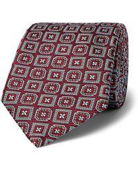 Kingsman - + Turnbull & Asser Rocketman Silk-jacquard Tie - Lyst