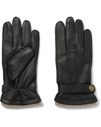 Dents - Gloucester Cashmere-lined Leather Gloves - Lyst
