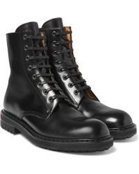 Outlet Genuine Newest Online Alexander McQueen Combat Boots Sale Fake Outlet Store Cheap Sale Classic mmSfHQqEV