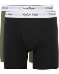 CALVIN KLEIN 205W39NYC - Two-pack Stretch-cotton Boxer Briefs - Lyst