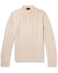 Tod's - Cable-knit Jumper - Lyst