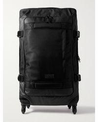 Eastpak Trans4 Cnnct L Coated-canvas Suitcase - Black