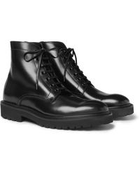 Paul Smith Farley Leather Boots - Black