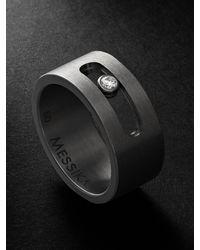 Messika Move Titanium Diamond Ring - Metallic