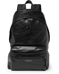 Balenciaga - Arena Creased-leather Backpack - Lyst