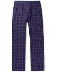 Calvin Klein Cotton-blend Pajama Pants - Blue