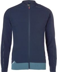 Soar Running X-line Tempo Stretch-jersey Jacket - Blue