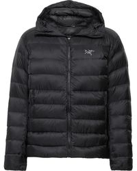 Arc'teryx Cerium Sv Quilted Arato 10 Hooded Down Jacket - Black