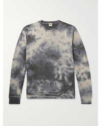 Massimo Alba Tie-dyed Cashmere Sweater - Blue