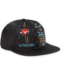 Valentino - Garavani Embroidered Shell Cap - Lyst